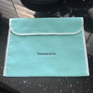 AUTH Tiffany & Co. Jewelry Pouch for Necklace NEW